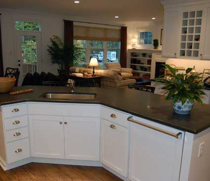 Marvelous Kitchen With Island In West Chester, PA. Designed By Chester County Kitchen  And Bath In West Chester, PA. Fieldstone Cabinetry Hudson Door Style Inu2026