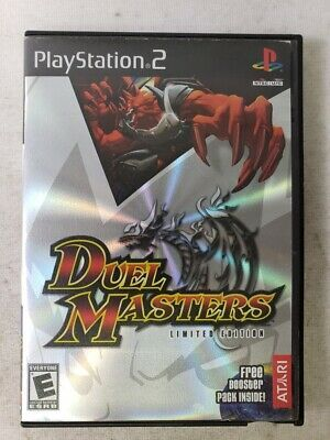 Duel Masters Limited Editon For Ps2 Playstation 2 Game Ps4
