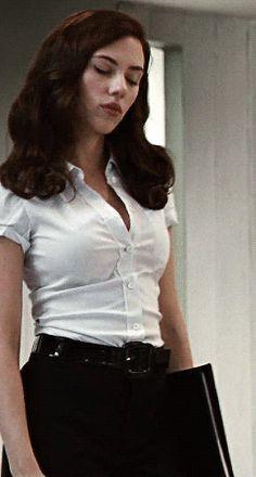 Scarlett Johansson as Black Widow ❤