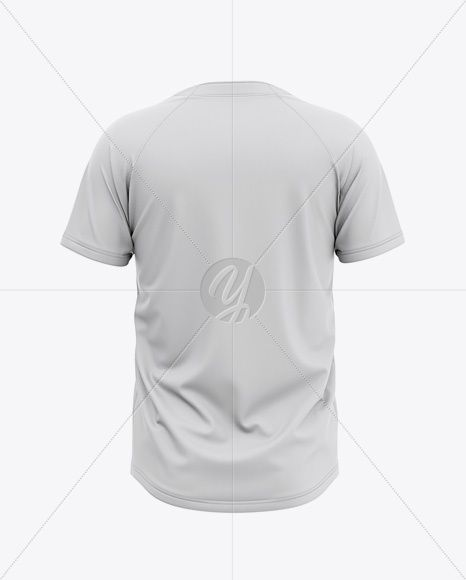 Download Men S Two Buttons Baseball Jersey Mockup Back View Of Henley T Shirt In Apparel Mockups On Yellow Images Object Mockups Mockup Free Download Mockup Free Psd Free Mockup