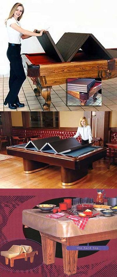 Complete Ball Sets 75193 Billiard Pool Table Convertible Hard Top