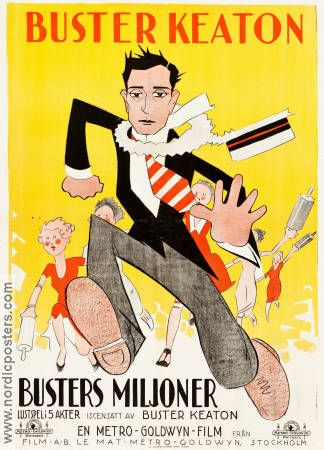 Seven Chances 1925 poster Buster Keaton | Old film posters, Buster keaton  movies, Cinema posters
