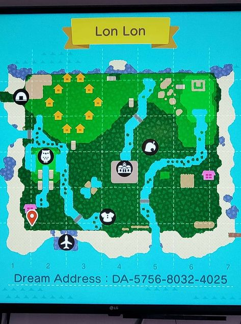 Acnl Town Map : Dream, Towns, Ideas, Acnl,, Animal, Crossing