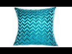 Geometric designed cushion tutorial - YouTube | FABRIC