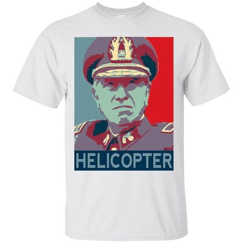 Pinochet Helicopter - T-Shirt