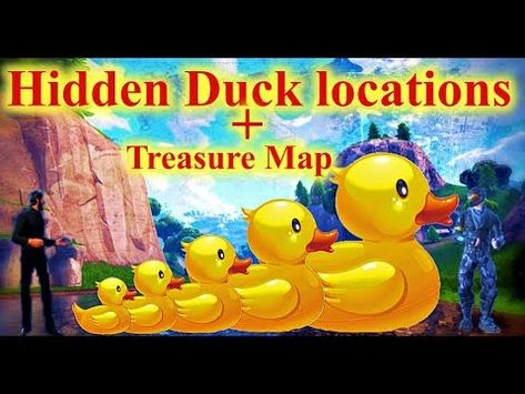 All Hidden Duck Locations (And Star)--Fortnite Week 3