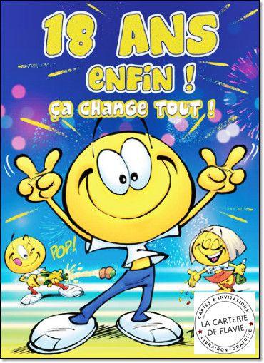 Image Carte D Anniversaire Pour Les 18 Ans Lovely Carte Maxi Anniversaire 18 Ans L Carte Anniversaire Carte Anniversaire Humoristique Carte Anniversaire Animee