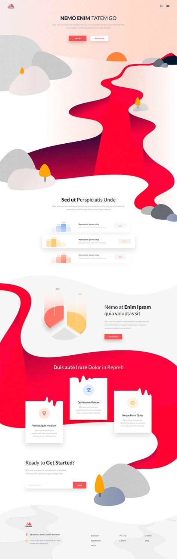 Inspiración web rojo como color predominante | mlmonferrer.es