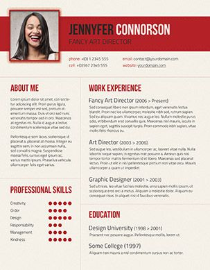 49 Modern Resume Templates That Get You Hired Fancy Resumes ...