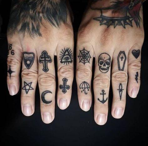 Képtalálatok a következőre: men finger tattoo
