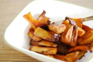 Roasted Spiced Mushrooms (great for all phases)