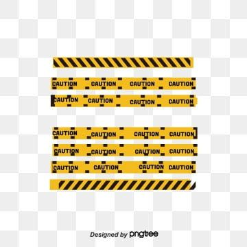 Yellow Black Warning Line Yellow Cordon Dividing Line High Pressure Cordon Png And Vector With Transparent Background For Free Download Red Warning Light Black And White Lines Geometric Lines
