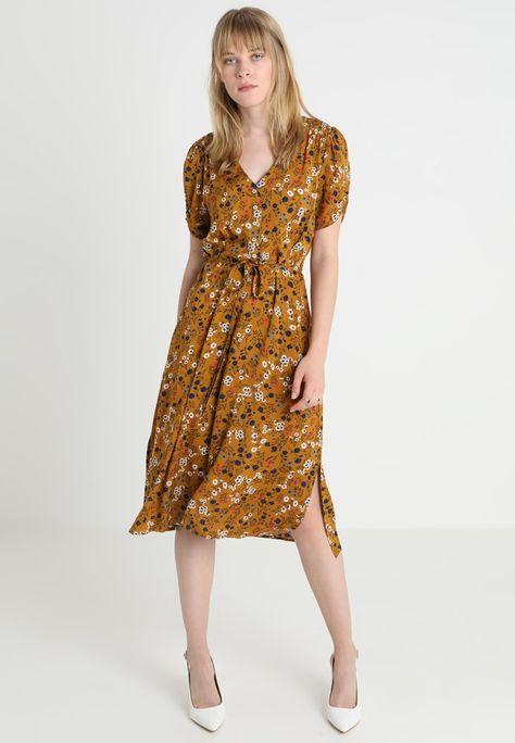 nouveau produit f733f 4abfe CHANTAL DITSY - Robe chemise - mustard @ ZALANDO.FR ...