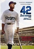 En 1947, une nouvelle page de l'histoire a été écrite lorsque Jackie Robinson est devenu le premier joueur de baseball professionnel afro-américain. 42 raconte la vie de Robinson et de son arrivée historique avec les Dodgers de Brooklyn sous la tutelle du manager Branch Rickey.  Comptoir du prêt: code 81971