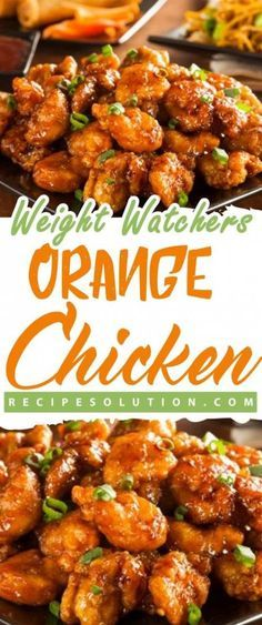 This Weight Watchers Orange Chicken Recipe is delicious! Weight Watchers Chinese recipes help you feel full and satisfied after dinner. Instant Pot Orange Chicken is a great family friendly meal. Weight Watchers Snacks, Weight Watcher Dinners, Poulet Weight Watchers, Plats Weight Watchers, Weight Watchers Meal Plans, Weight Watchers Chicken, Weight Watchers Orange Chicken Recipe, Weigh Watchers, Healthy Chicken Recipes
