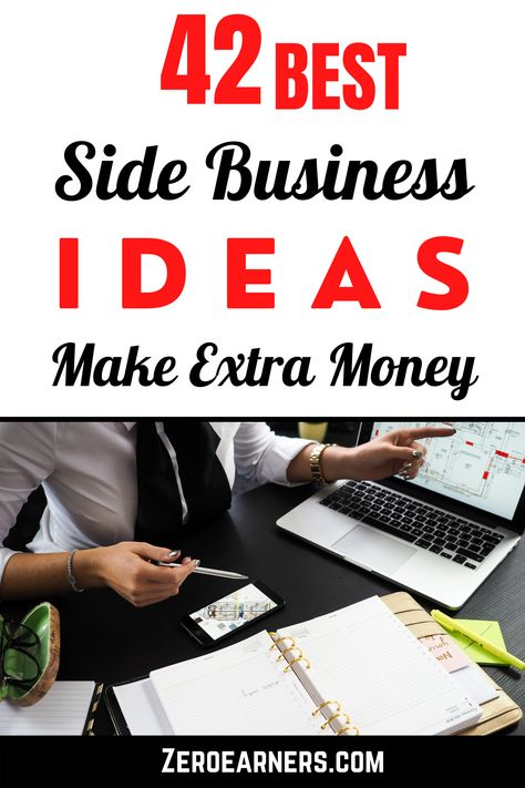Are you looking for the best side business ideas? Here I've found some of the best side business ideas to make extra money. #sidebusinessideas #sidebusiness #sidehustles