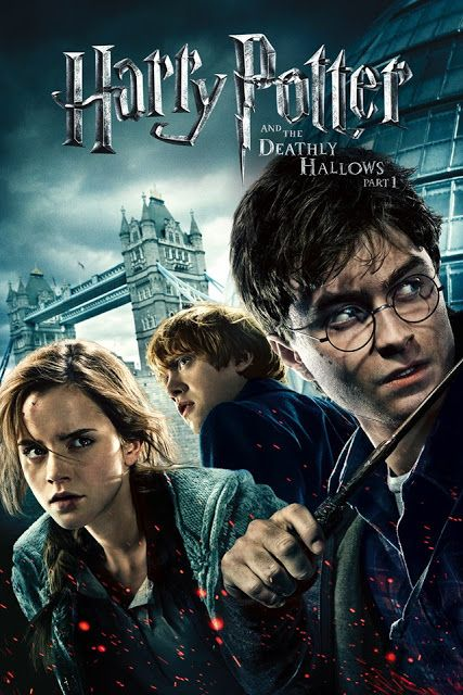 Harry Potter And The Deathly Hallows Movie 1 2 Deathly Hallows Movie Deathly Hallows Part 1 Harry Potter Movies