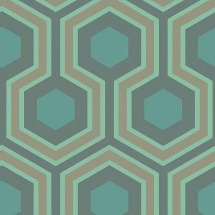 Papier Peint Hicks Grand Cole And Son Papier Peint Papier Peint Geometrique Papier