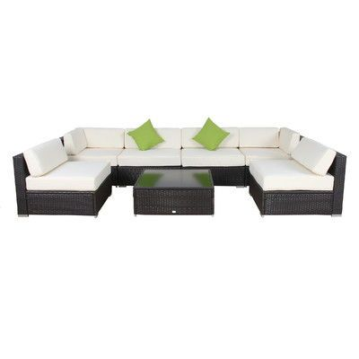 Wicker Sectional Sofas Outdoor Sofa Sets Wicker Furniture