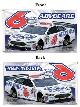 Officially licensed #6 Trevor Bayne flag. Size: 3' x 5' flag with heading and…