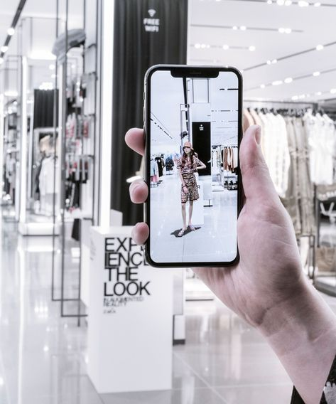 Zara Is Changing How We Shop Through Augmented Reality+#refinery29