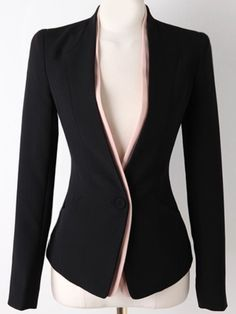 SheIn offers Black Long Sleeve Single Button Slim Blazer & more to fit your fashionable needs.