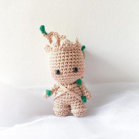 Bichinhos de Crochê - Bebê Groot Amigurumi - YouTube | 474x474
