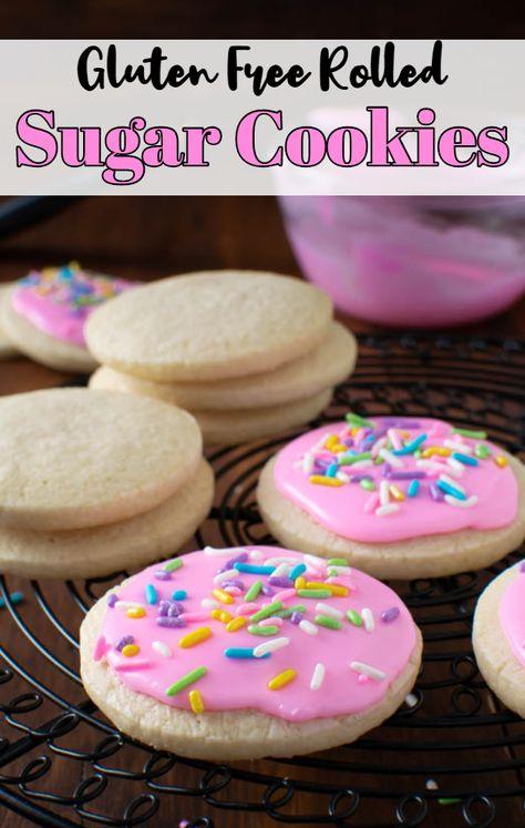 Gluten Free Rolled Sugar Cookies Recipe Gluten Free Sugar