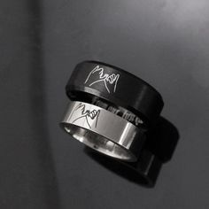 Pinky Swear Rings For Couple Pinky Promise Rings Custom Engraved Wedding Rings Personalized Couple Rings Engagement Anniversary Gift In 2021 Pinky Promise Ring Matching Promise Rings Promise Rings For Couples