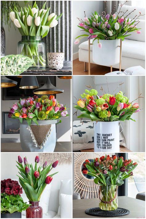Kompozycje Z Tulipanami Wohnen