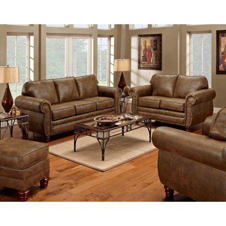 American Furniture Classics Sedona Sofa Walmart Com 4 Piece Living Room Set Living Room Leather Nailhead Living Room