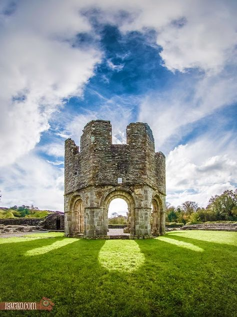 Ruins of Old Mellifont Abbey, County Louth Ireland