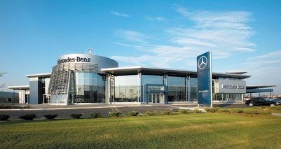 Mercedes-Benz Canada recognizes Mercedes-Benz Mississauga as one of nine Star Dealers. Recognized as Star Dealer for 2009, Mercedes-Benz Mississauga, pictured above, located at 6120 Mavis Road, surpassed its sales targets and exceeded the extremely high levels of quality customer care that are expected from Mercedes-Benz Canada.