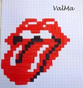 Les Créas De Valma Pixel Drawing Graph Paper Art Pixel Art