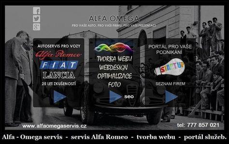 Tvorba webových stránek a tvorba webových prezentací. Internetové  prezentace. Alfa - Omega servis   3f02864d044
