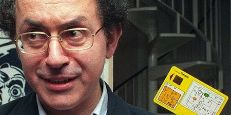 Roland Moreno l'inventeur de la carte à puce