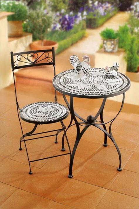 Mosaik Gartentisch Gartentisch Mosaik Gartentisch Und Mosaik