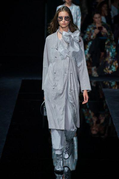Emporio Armani at Milan Fashion Week Spring 2020 - Runway Photos