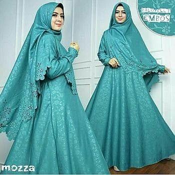 32 Mozza Syar I Tosca 140 000 Mozza Syar I Tosca Bhn Baloteli Embos Hq Maxi Tgn Pjg Pinggang Blkg Karet Ld110 Bergo Combi With Images Fashion Hijab Fashion Fashion Trends