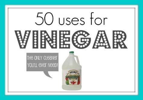 Know your uses for vinegar and natural cleaning agents. | 33 Meticulous Cleaning Tricks For The OCD Person Inside You