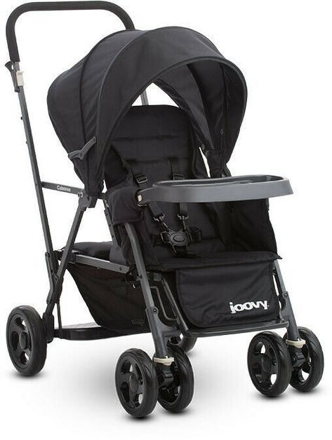 Joovy Double Stroller Latest Joovy Double Stroller For Sales Joovy Caboose Graphite Black Sit Stand Co Tandem Stroller Joovy Double Stroller Double Strollers