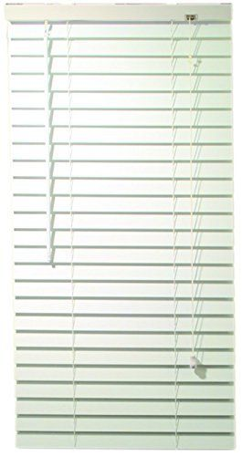 Designer S Contact 2464677 2 Inch Fake Wooden Blind Crown Valance 35 X 48 X 2 Inch White In 2020 Faux Wood Blinds Contemporary Valances Faux Wood