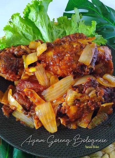 Resep Ayam Goreng Bolognese Resep Ayam Ayam Goreng Resep Masakan