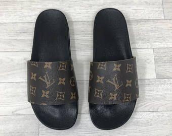 Louis Vuitton (reworked) Slides