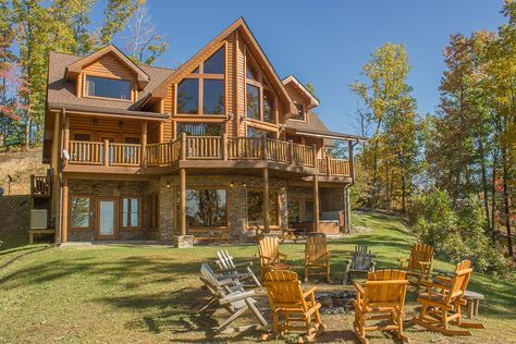 Pigeon Forge Vacation Rental   VRBO 483688   6 BR East Cabin In TN, Luxury  Cabin On 1 Acre With Great Views In Gated Subdivision | Vacation |  Pinterest ...