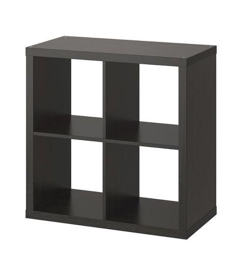 KALLAX black brown, Shelving unit with