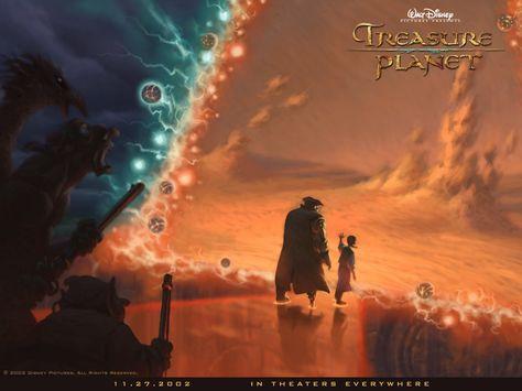 Disney Wallpaper: Treasure Planet