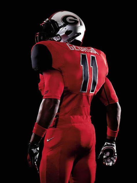 New Georgia Nike Pro Combat Uniforms | Combat uniforms, Nike pro ...