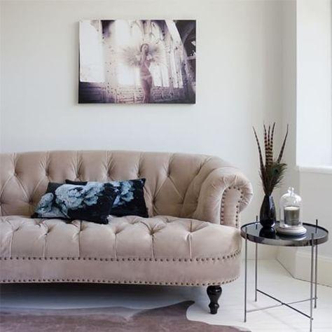 Wondrous Our Chablis Roses Mink Velvet Sofa May Be Verging A Lot Evergreenethics Interior Chair Design Evergreenethicsorg
