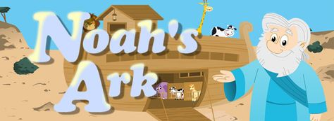 Bible Games for Kids | Noah's Ark is the classic Bible story tale of Noah, a virtuous man tasked by God to build an ark for his family and all animals, to survive the great flood. Features:  - Interactive storytelling of the Bible story of Noah's Ark  - Engaging narrator & characters voices, sound effects and original music  - In-story games challenge your child to take part, providing a more memorable experience  - Re-playable Mini-games featuring the Noah's Ark characters #bible #games #kidmin